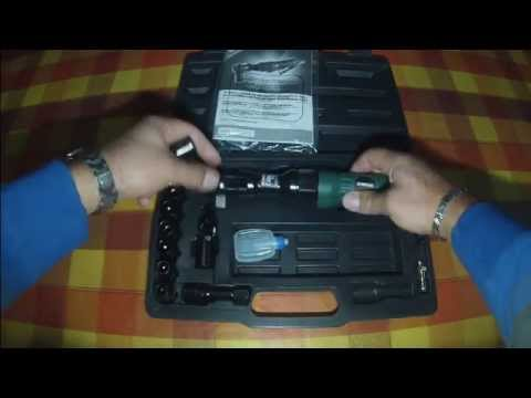 Avvitatore a cricco pneumatico parkside youtube for Parkside avvitatore
