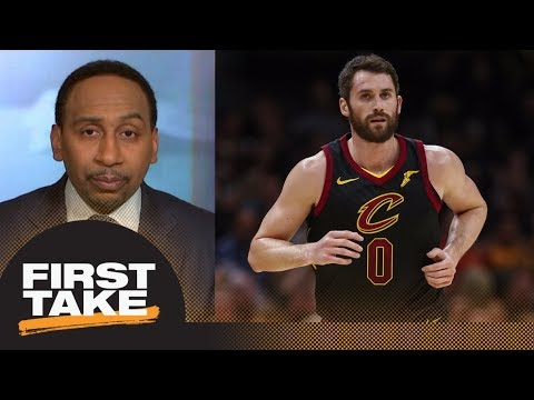 Stephen A. Smith says losing Kevin Love is devastating for the Cavaliers | First Take | ESPN