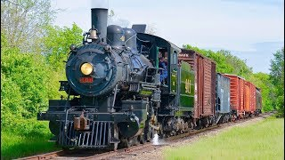 Southern Railway Steam Freight Train