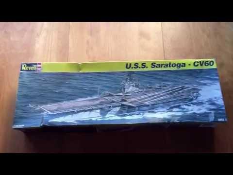 Revell 1:542 USS Saratoga - CV60