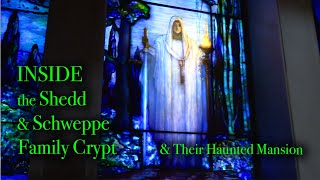 ACCESS INSIDE FAMOUS FAMILY CRYPT - MANSION HAUNTINGS - Sinister end to the Schweppe Family Dynasty