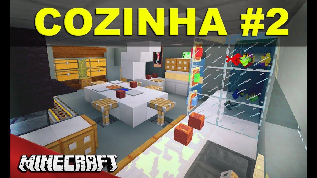 Decoracao De Cozinha No Minecraft Beyato Com V Rios Desenhos