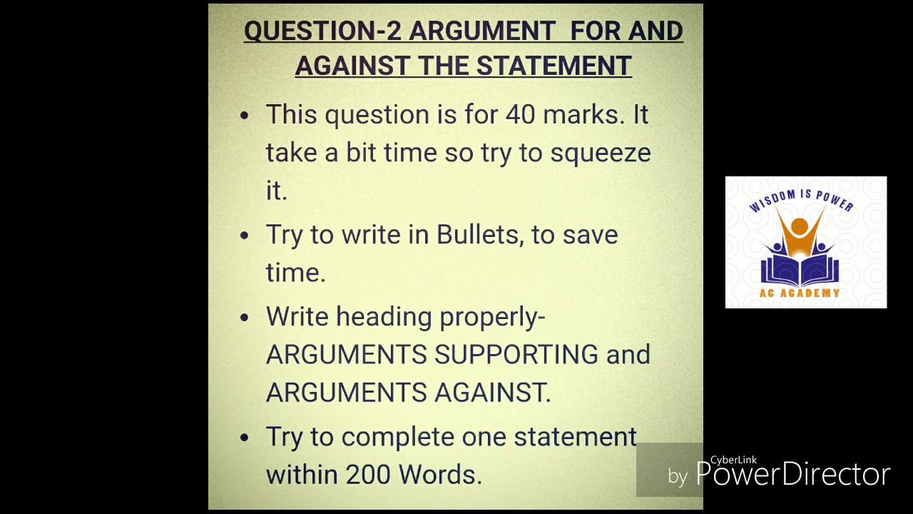 capf ac essay topics