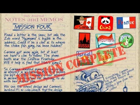 Mission 04 - (2001) Where in the World Is Carmen Sandiego - Treasures of Knowledge