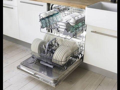 Установка и подключение посудомоечной машины (english) - YouTube