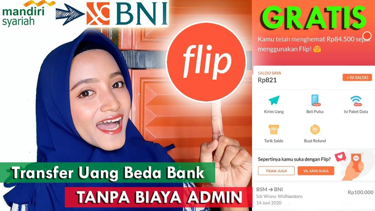 Download TUTORIAL #3 | Transfer Uang Beda BANK Pakai FLIP [AMAN-GRATIS-MUDAH] | Bebas Biaya Admin