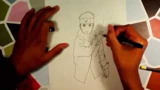 How to draw Naruto (the last) / Comment dessiner Naruto (the last)