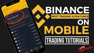 How to Spot Trade on Binance using Default setup on Mobile? Stop-loss explained, etc Aldrin Rabino