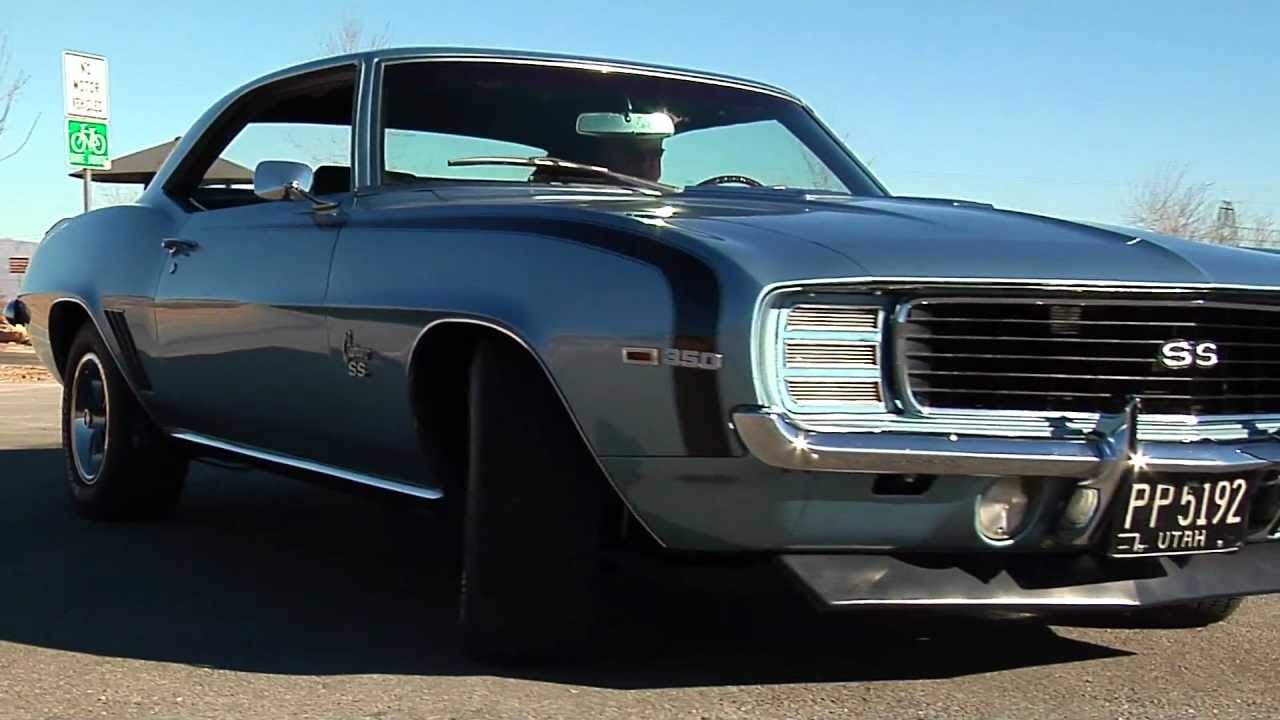 1969 chevrolet camaro rs ss 4spd coupe test drive viva las vegas autos youtube. Black Bedroom Furniture Sets. Home Design Ideas