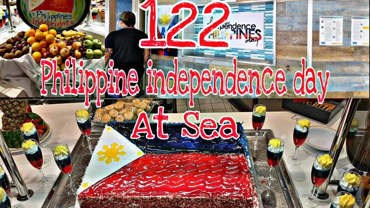 122 Philippine Independence Day @ Sea