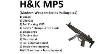 Royalty Free - H&K MP5 - Sound Effects - HQ