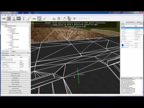Carlson P3D Topo 2016 | Surface Editing Pt. 1