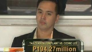NTG: Cedric Lee, nahaharap ngayon sa reklamong tax evasion