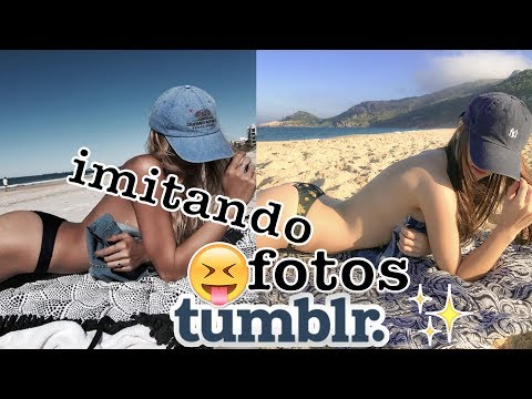 IMITANDO FOTOS TUMBLR, FINALMENTE!