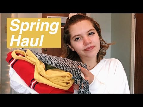 NYC/Spring Try-On Clothing Haul (Brandy...