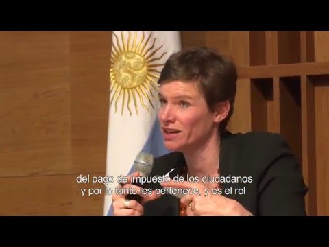 Conferencia de Mariana Mazzucato