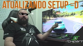 "ANDRE FICOU MALUCO! ""MONITOR"" 4K 49 POLEGADAS ‹ ChipArt ›"
