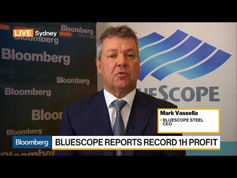 BlueScope Steel's CEO on Earnings, China Demand, Iron Ore