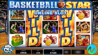 Basketball Star Online Slot from Microgaming(Basketball Star Online Slot Full Review: http://online.casinocity.com/slots/game/basketball-star/ http://www.ThisWeekInGambling.com - Slot fans who love sports ..., 2016-09-08T21:22:11.000Z)