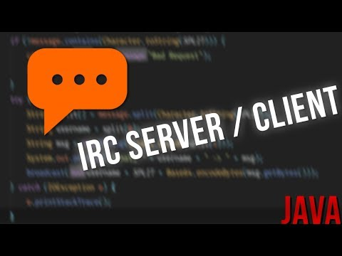 IRC (Internet Relay Chat) | SPEED CODING | superblaubeere27