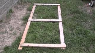 Chicken Coop Summer Door