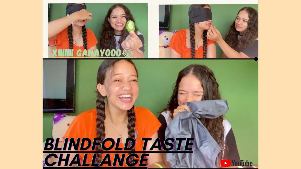 Download Blindfold food taste challenge ||A day of lockdown|| (Samiksha & Sanchita) LP Sisters👯♀️VLOG 1