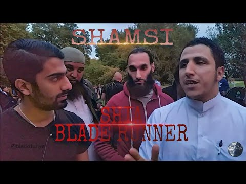 SHAMSI VS SHIA BLADE RUNNER   AS FOR THOSE WHO HAVE DISEASE IN THEIR HEARTS   SPEAKERS CORNER