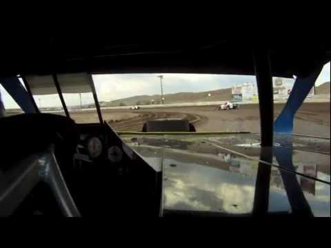 In car Reno-Fernley raceway