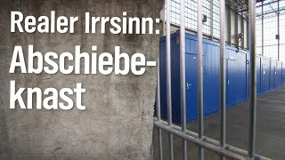 Realer Irrsinn: Teurer Abschiebeknast am Flughafen München