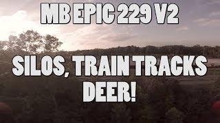 MB EPIC 229 V2  SILOS, TRAINS AND DEER
