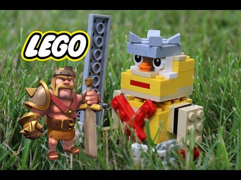How To Build LEGO Clash Of Clans Barbarian King | MOC #41