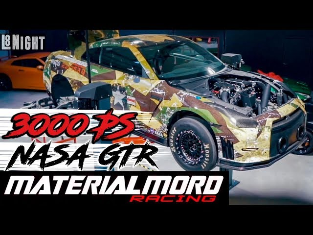 3000PS GTR I Materialmord Racing I RAD48 - L8Night Serie