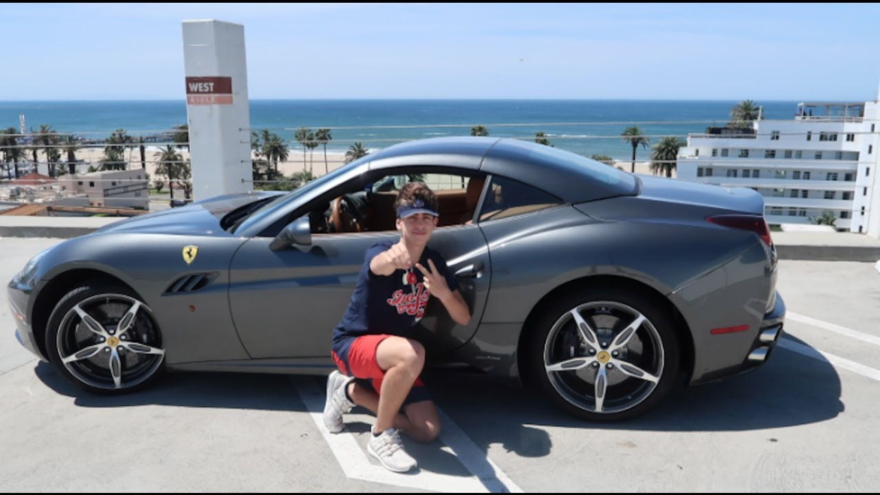 GOT MY FERRARI DREAM CAR IN LA AT 17 BEST VLOG YET