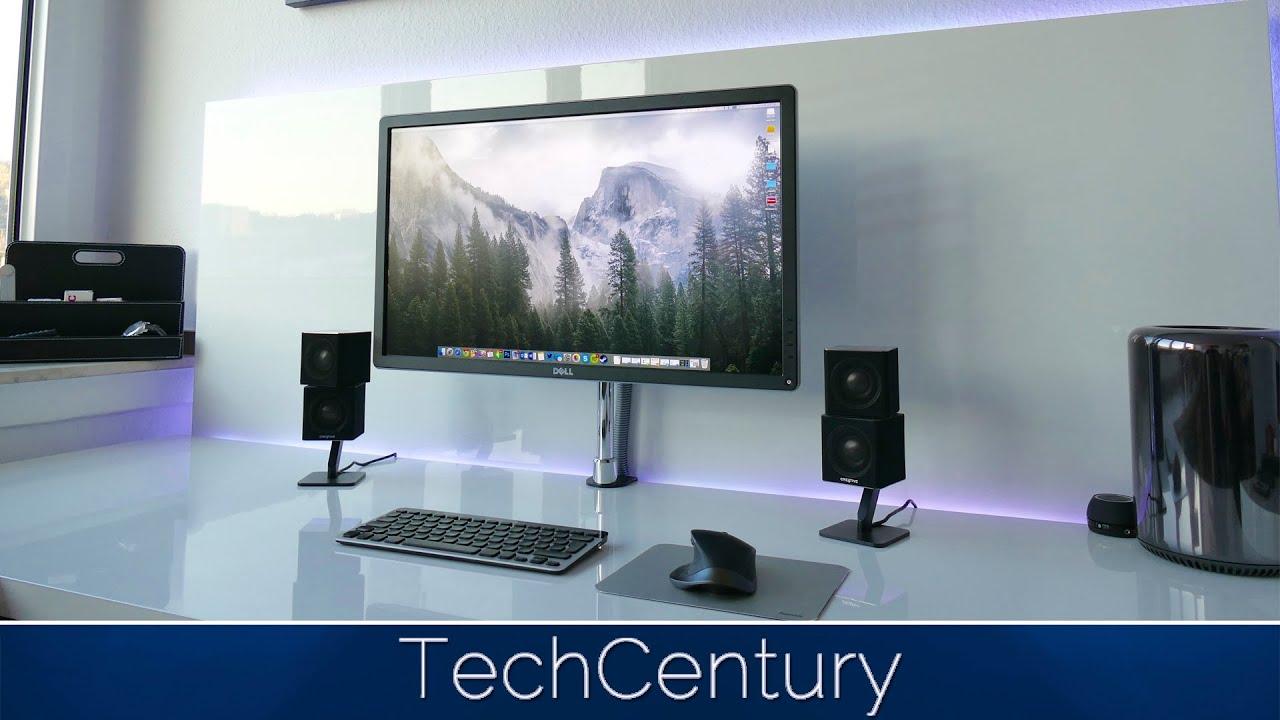 Techcentury Geek Desk Tour 2015 In 4k Mac Pro 4k