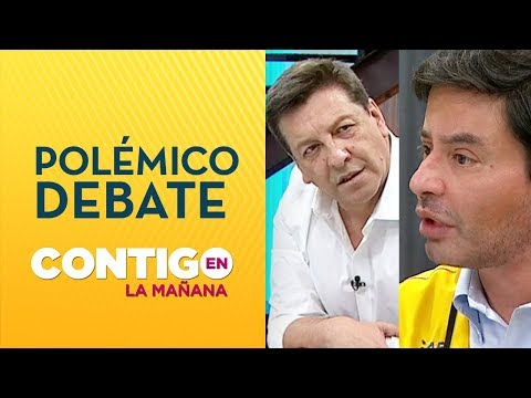 CARA A CARA: Julio César Rodríguez y Rodolfo Carter vivieron tensa discusión - Contigo en La Mañana