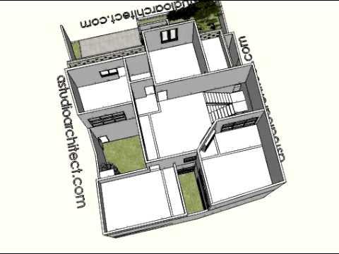 Desain rumah bergaya Bali modern