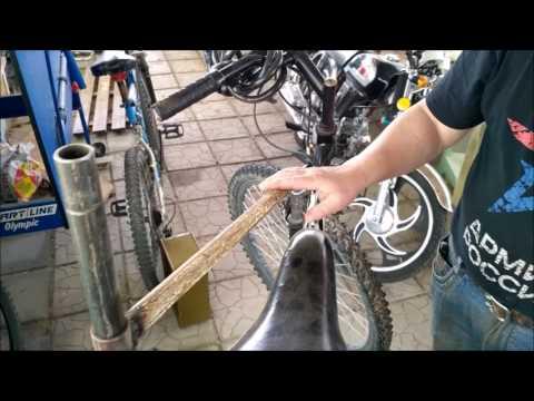 Стапель для ремонта велосипеда