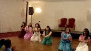 tajik girls are dancing with indian music in england birmingham