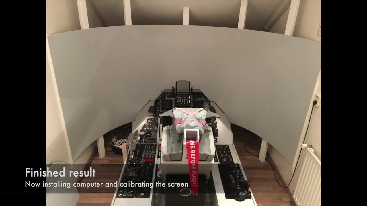 DIY Curved projection screen ULTI
