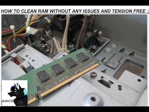 How to Clean Your PC Ram Without any Issues and Tension Free | :)