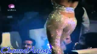 فضيحة رقص هيفاء وهبي الخليع راس السنة 2012   YouTube