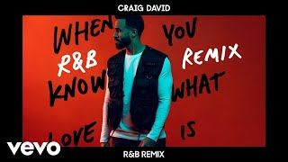 Craig David  When You Know What Love Is (Ramp;B Remix) Audio