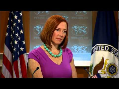 Daily Press Briefing - August 28, 2014