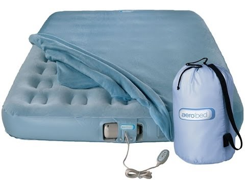 aero bed - premier airbed - youtube