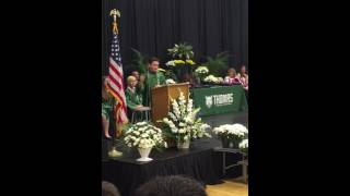 Presidential Graduation Speech
