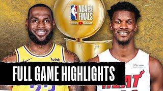 Miami Heat vs Los Angeles Lakers | October 4, 2020