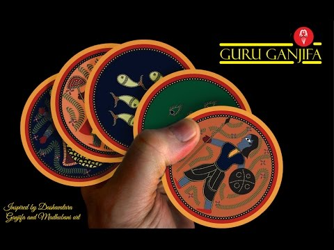 Guru Ganjifa - A Beautiful deck of Playing Cards (NOW ON KICKSTARTER)
