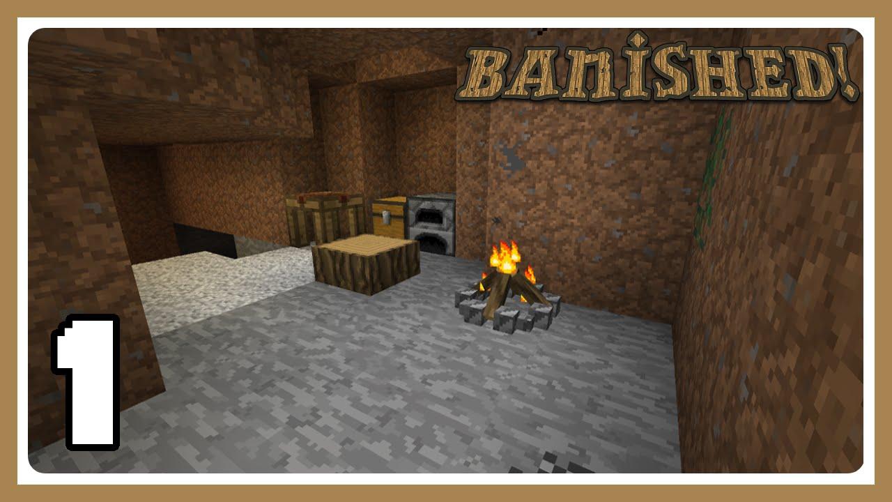 Banished! Harsh Survival - Survive the Night - Ep1 - Самые лучшие видео