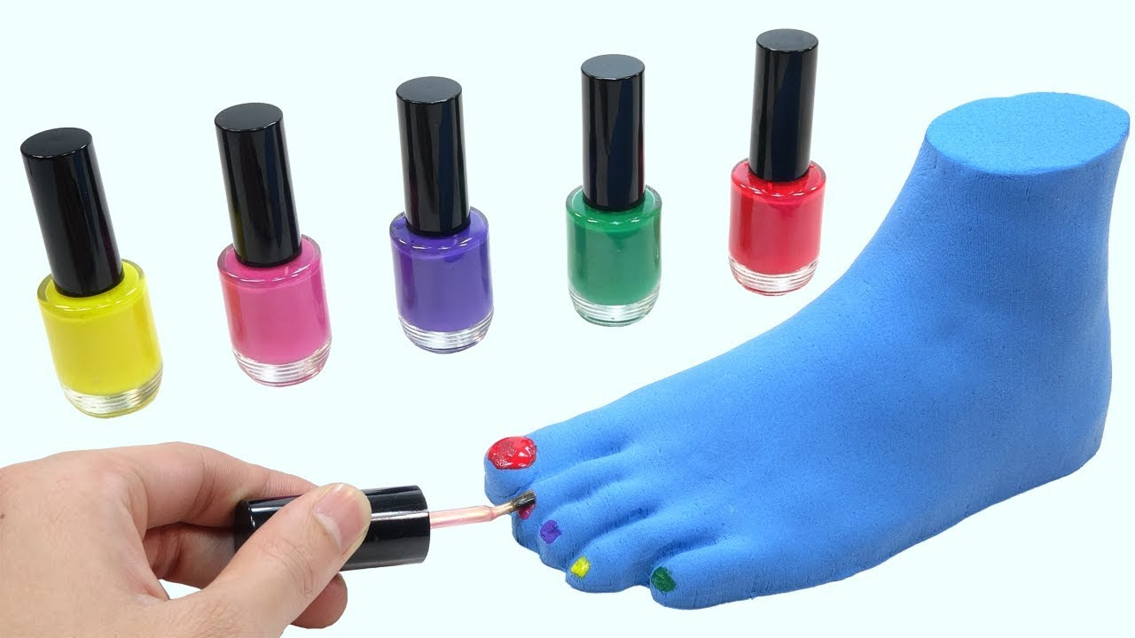 how to make nail polish for kids