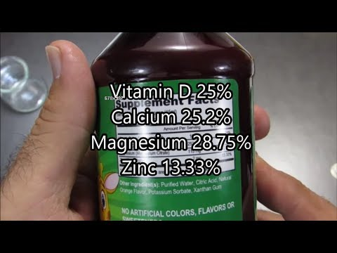 Mothers Select Infant Liquid Calcium And Magnesium